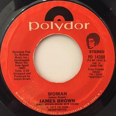 JAMES BROWN:WOMAN(LABEL SIDE-A)
