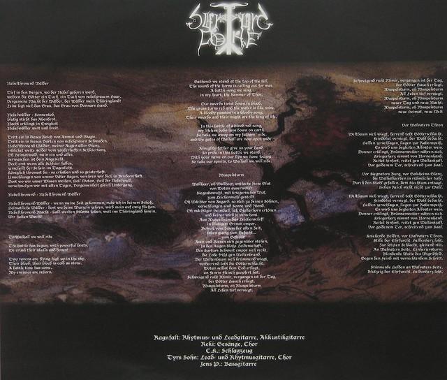 Surturs Lohe Vor Walvaters Thron Limited Edition handnumbered