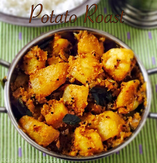 South Indian Potato Roast 3