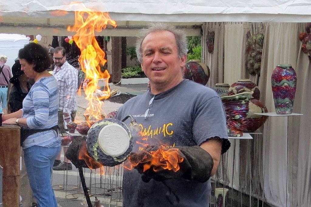 Raku pottery allentown art festival buffalo new york for Hamburg ny craft show