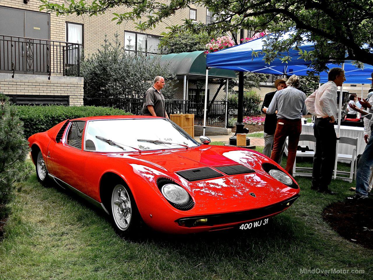 Hershey Elegance 2 Lamborghini Miura