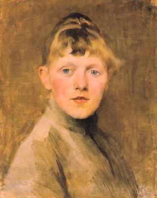 自画像1884-1885