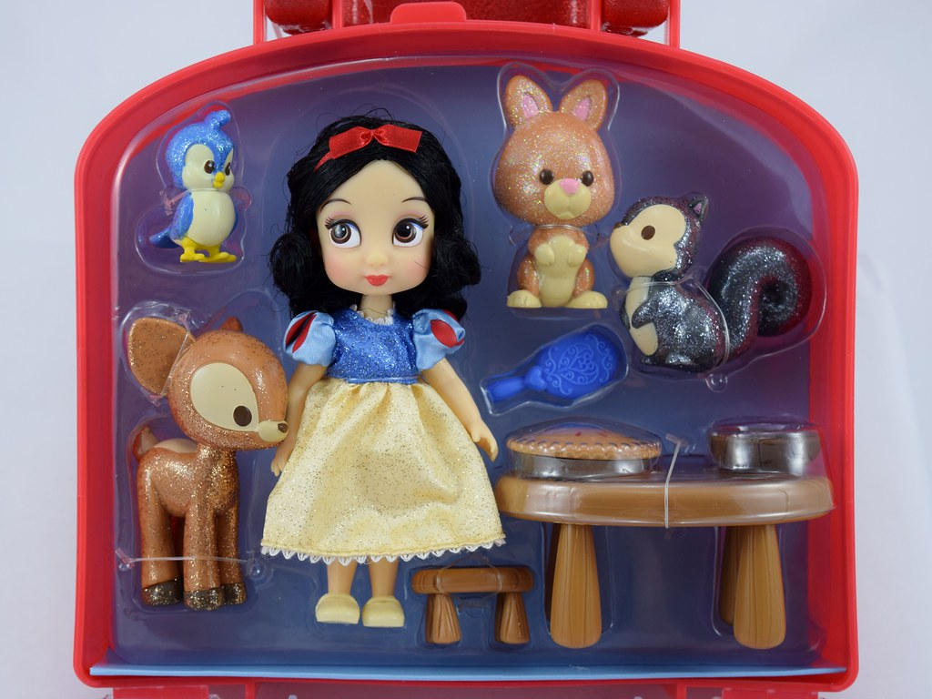Snow White Mini Animators Doll Set Disney Store Purchas