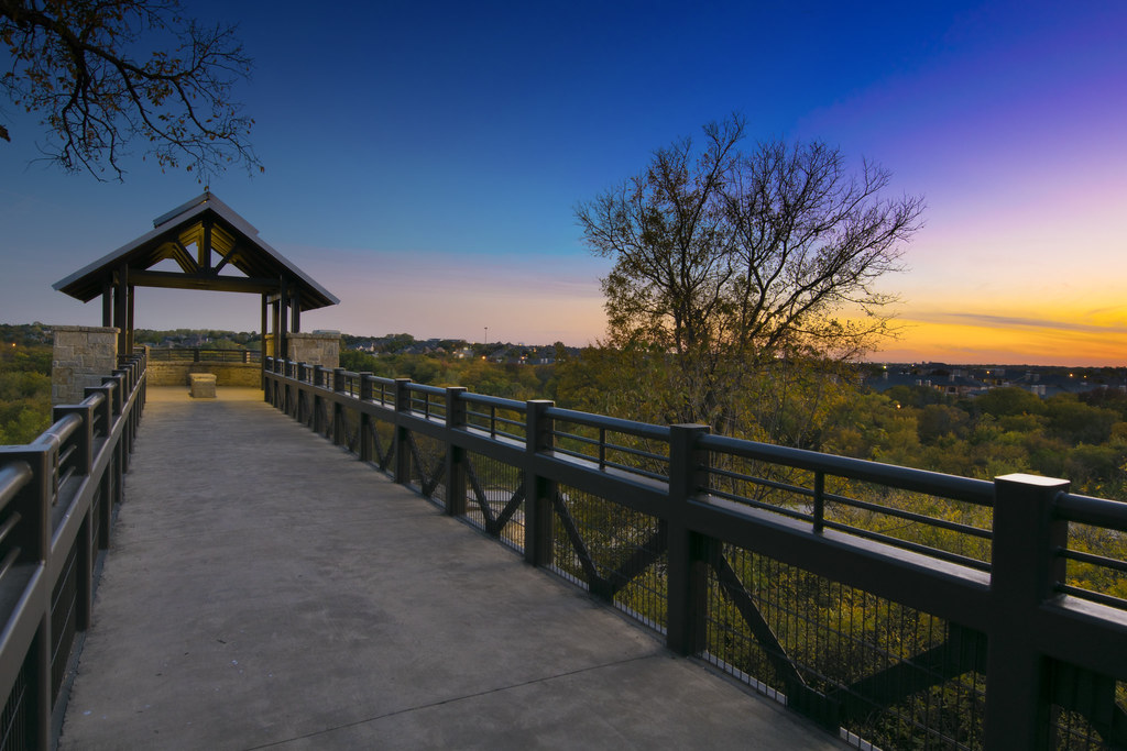 Arbor Hills Nature Preserve photo at dusk