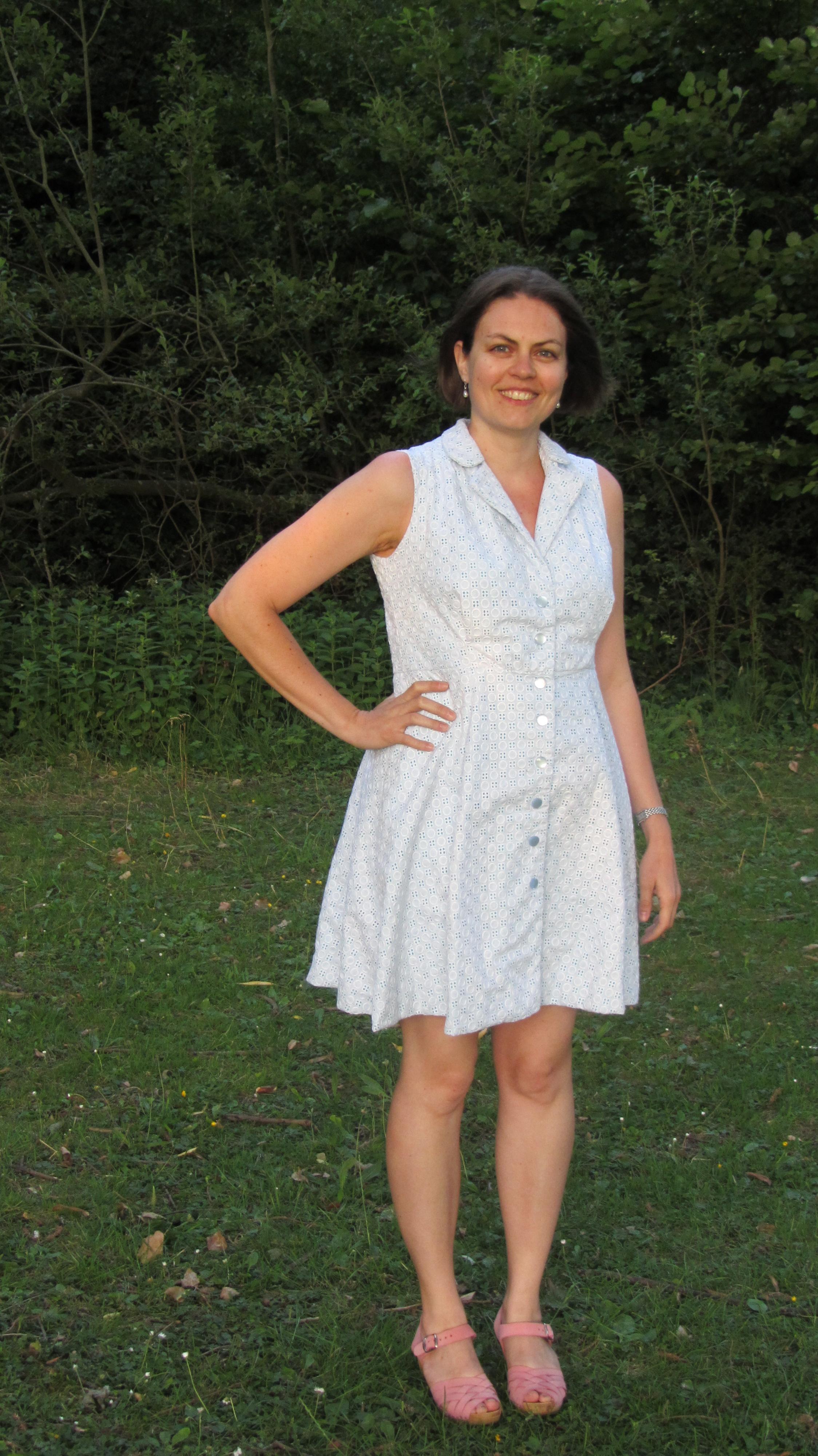 Vintage Shirt Dress 1