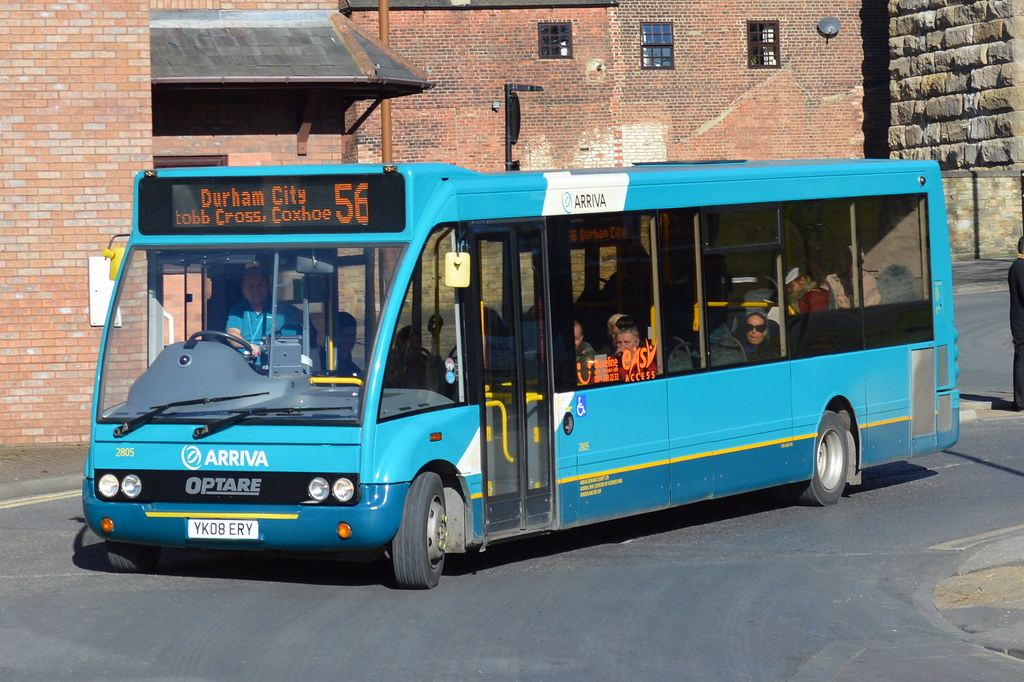 2805 Yk08ery Durham Bus Station 56 Arriva North East Opt Flickr
