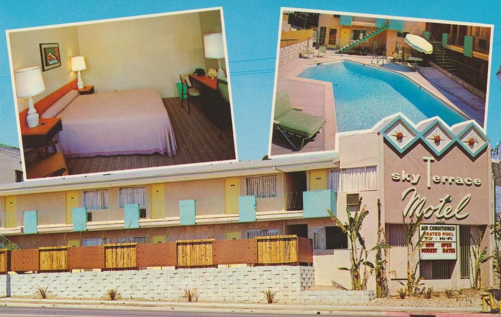 Sky Terrace Motel - Los Angeles, California
