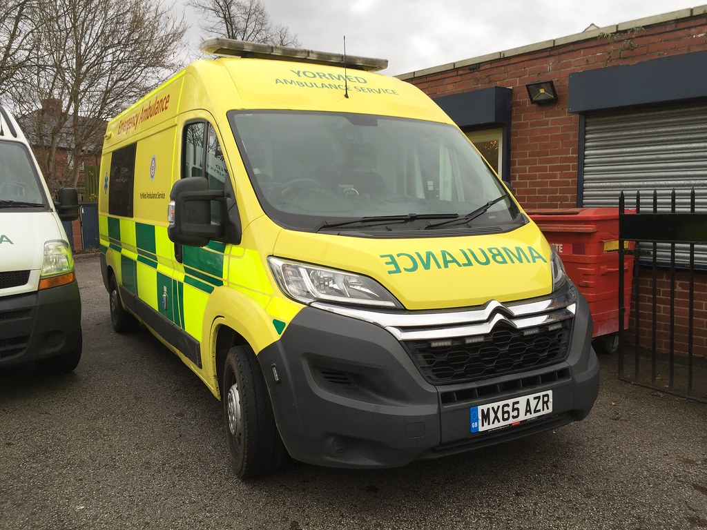 MXAZR Citroen Relay With A PH Conversions Emergency Ambu Flickr - Relay vehicle selection