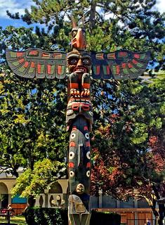 Kwawaka'wakw Honouring Pole