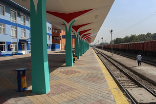 Dushanbe train station | by Timon91