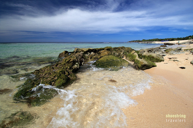 more rocks at Cabongaoan Beach