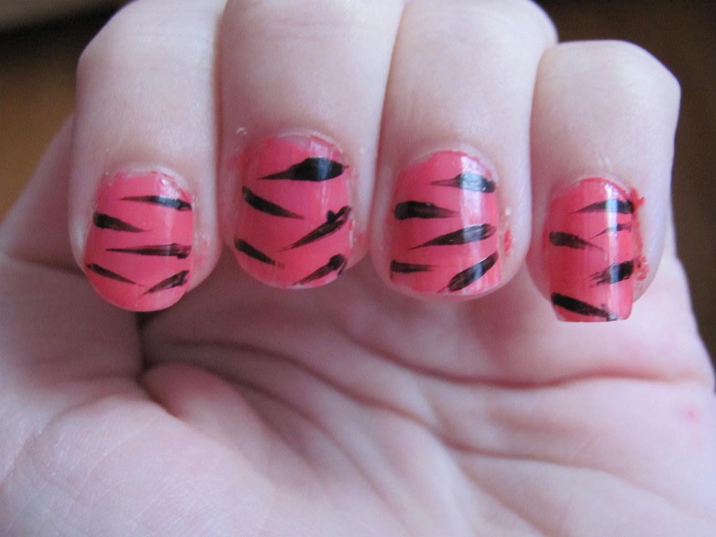 7 Cute Pink Zebra Nail Designs In 2015 Pink Zebra Nail Des Flickr