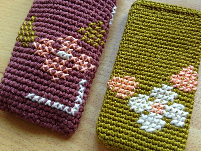 fundas a crochet