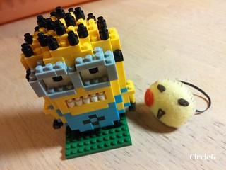 CIRCLEG MINIONS LOZ LEGO 微鑽積木 細過粒米阿 (9)