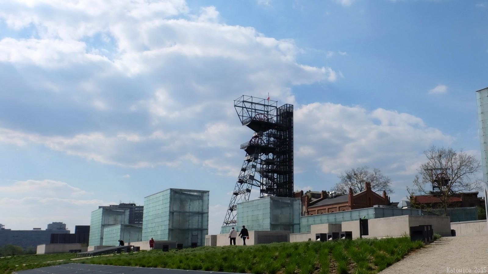 """Wieża szybu """"Warszawa II"""", City Museum, Katowice, Polska"""