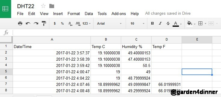 temperature and humidity logging with raspberry pi