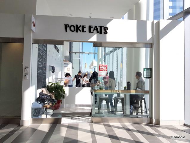 Poke Eats storefront