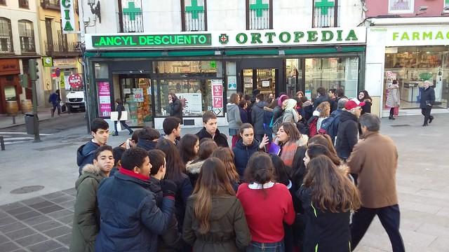 Secundaria. Madrid cervantino
