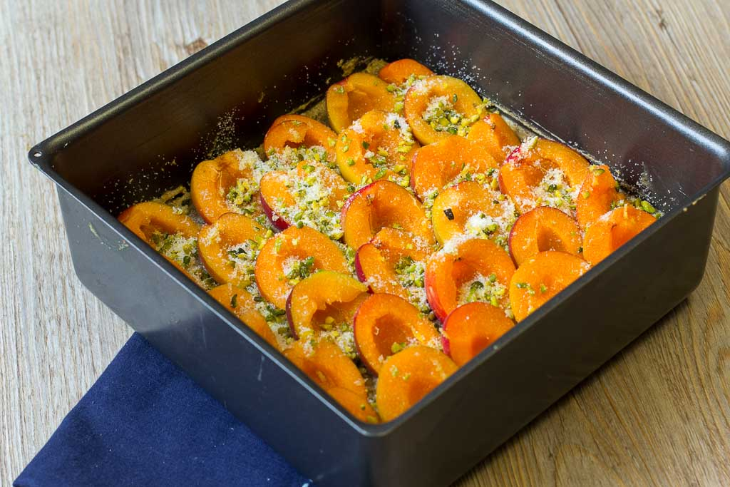 Aprikosenkuchen orientalisch