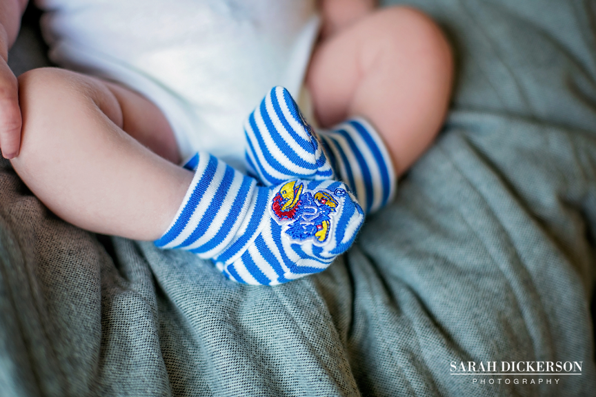 Kansas City newborn lifestyle photos