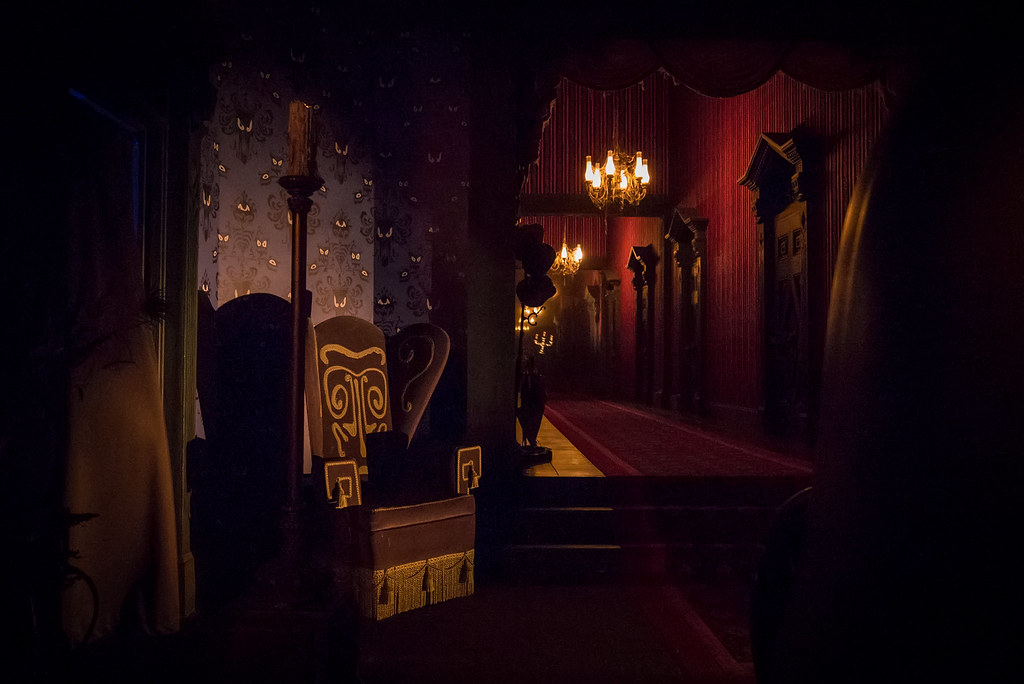 The Endless Hallway Haunted Mansion My Goodness This
