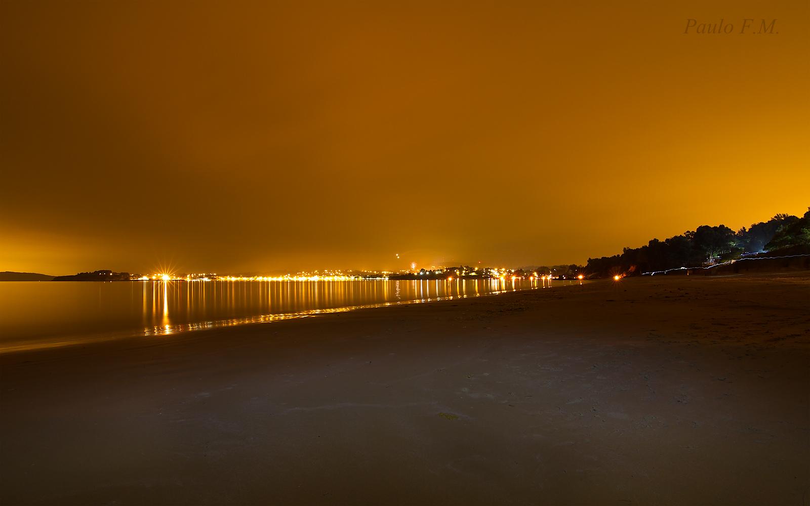 2952 - Noche de San Juan en Playa de O Raso