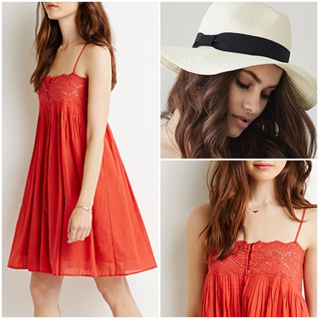 Just ordered this @Forever21 #dress and #hat since I had some store credits to use. 💁 #SaleAlert: Get 20% off today with code F21FRIEND + FREE shipping over $21. //  @liketoknow.it www.liketk.it/1tpr3 #liketkit #f21 #forever21 #lov