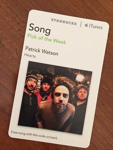 Starbucks iTunes Pick of the Week - Patrick Watson - Hearts