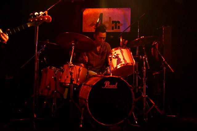 JIMISEN live at Adm, Tokyo, 09 Jun 2015. 440