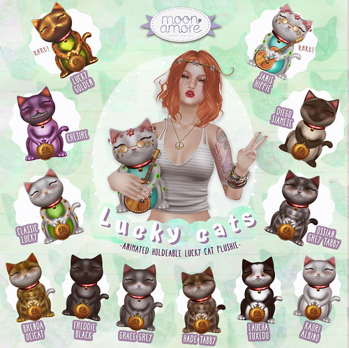 :Moon Amore: Lucky Cats!