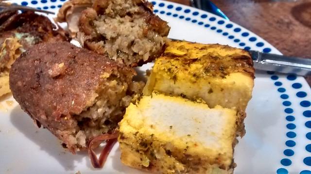 vegetarian seekj kebab  paneer tikka