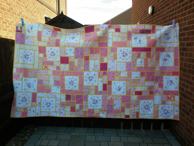 Fairy quilt: finished!