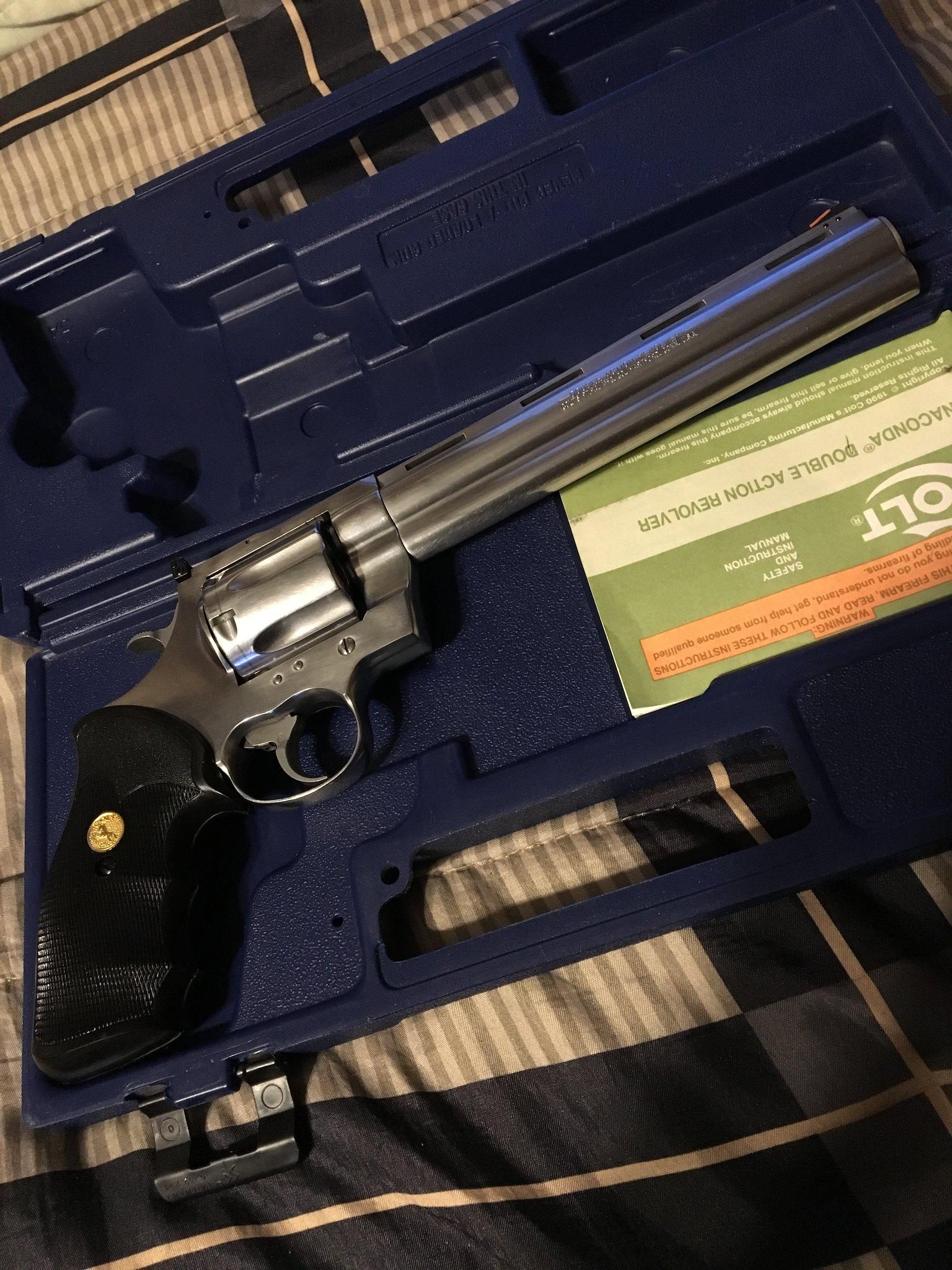 WTS: Colt Anaconda 8