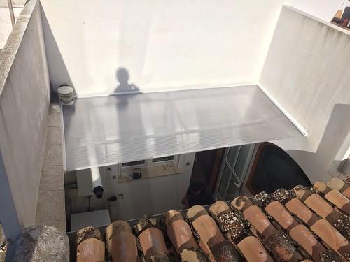 Cambio de viejo techo de poliester ondulado por uno nuevo for Cristaleria benissa