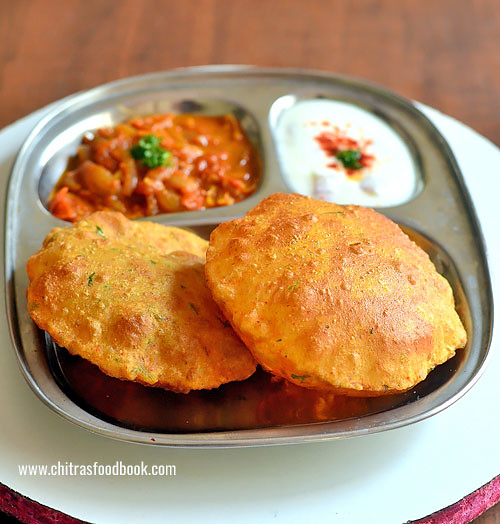Aloo ki puri recipe