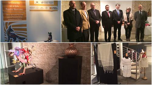 """Inauguración de la Exposición """"La Creación en el Arte Popular Mexicano"""""""