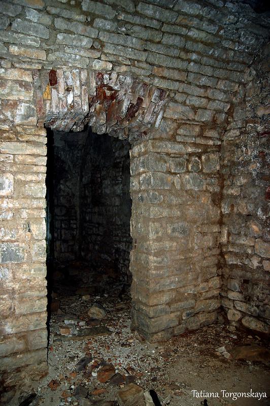 В жилой части форта