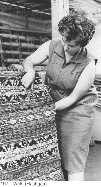 Fleckerlteppich production in Austria
