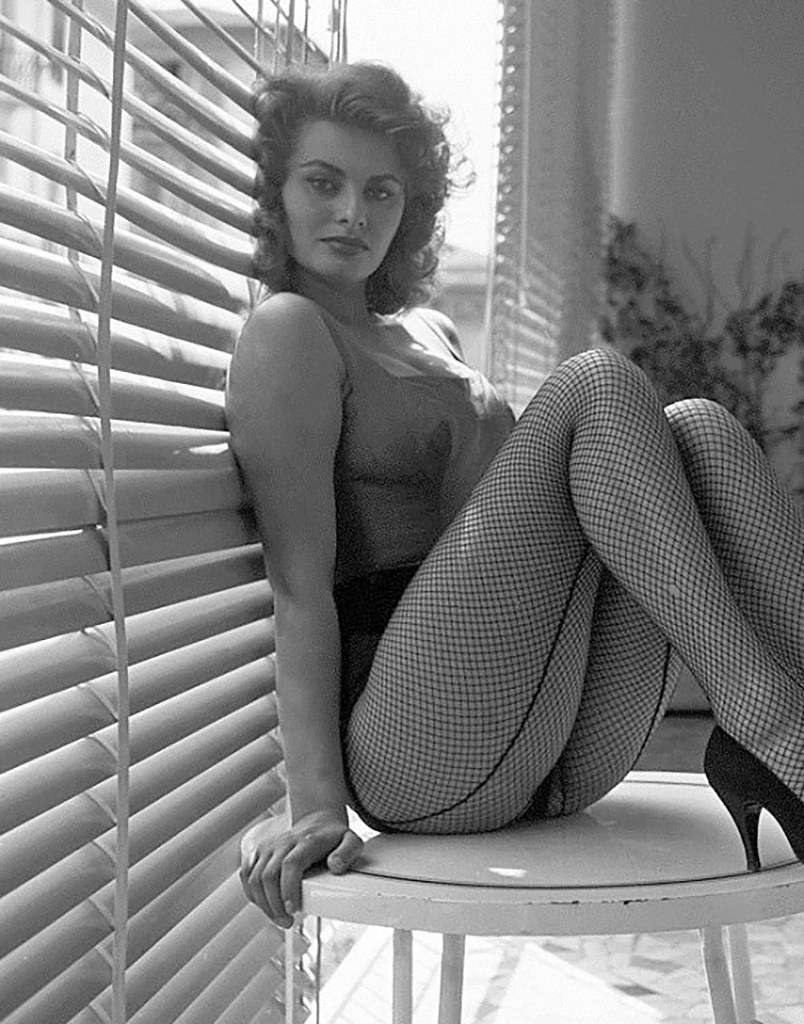 Superb Sophia Loren 1950S From My Tumblr Blog Toshio Y Flickr Hairstyle Inspiration Daily Dogsangcom