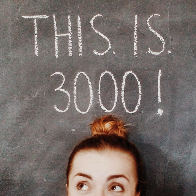 3000 Instagram followers!