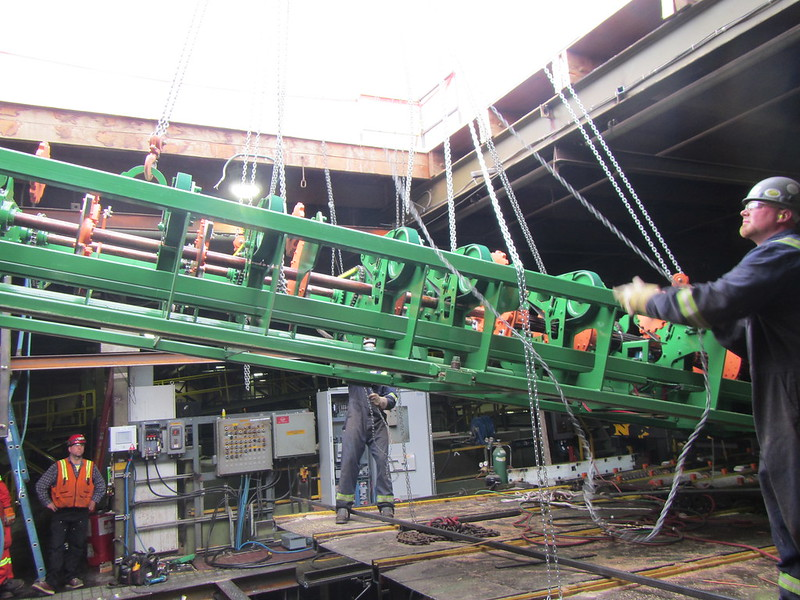 West Fraser Sawmill - Trimmer Upgrade