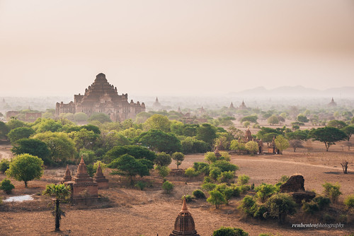 Bagan Early Morning Mist | by reubenteo