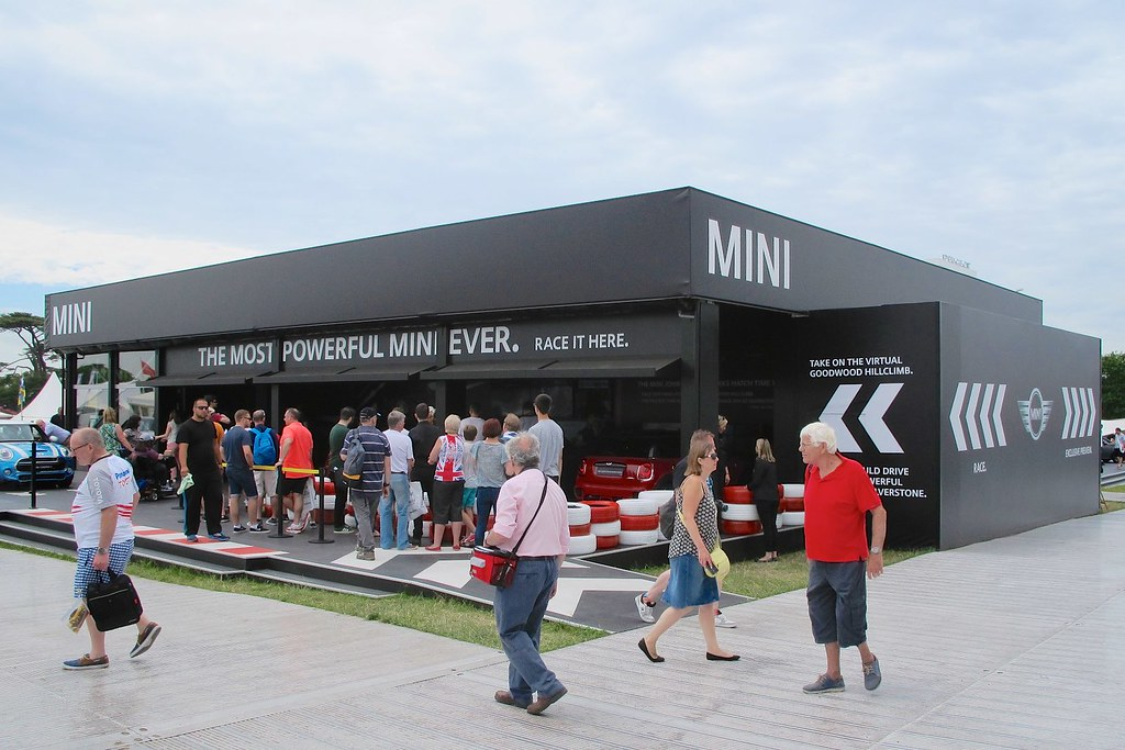 Trade Stands Goodwood Festival Speed : Goodwood festival of speed mini stand this photo