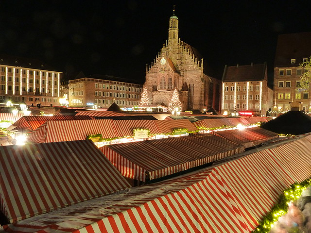 Mercado Navideño de Nuremberg (Norte de Baviera, Alemania)
