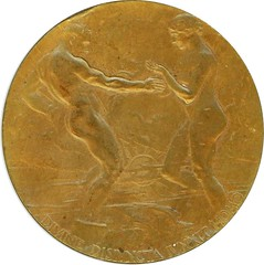 1915 PANAMA PACIFIC EXPOSITION OFFICIAL AWARD MEDAL obverse