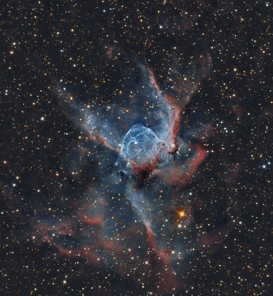 ... Thors Helmet - NGC 2359 | by Paddy Gilliland @ Image The Universe