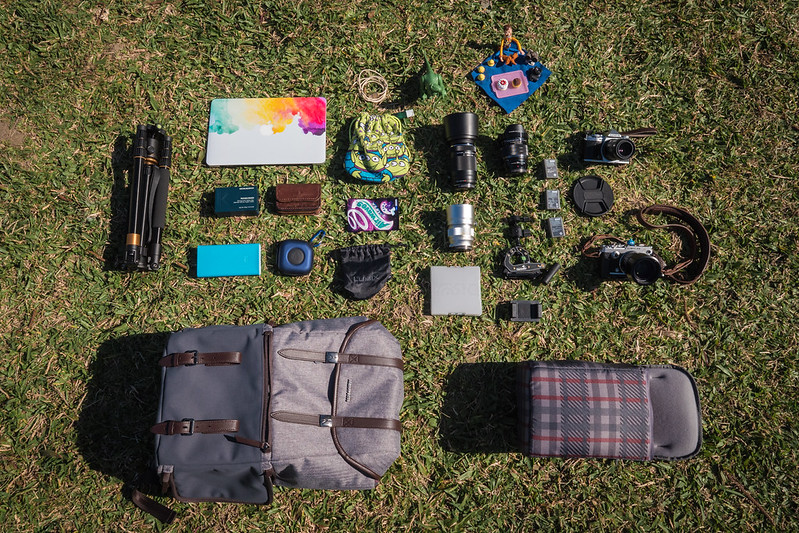 What's In My Bag.|MANFROTTO 溫莎 後背包 LF-WN-BP