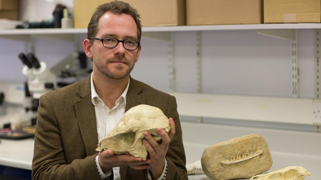 Dr Nick Longrich, palaeontologist