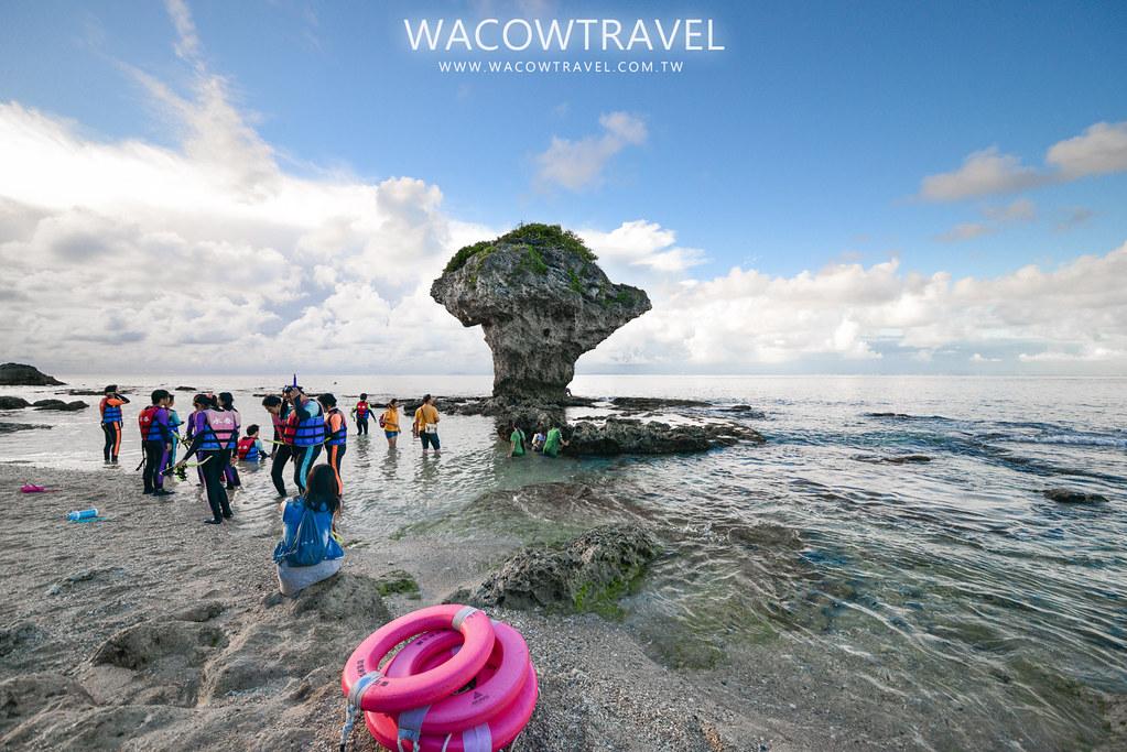 小琉球冬季旅遊,花瓶石