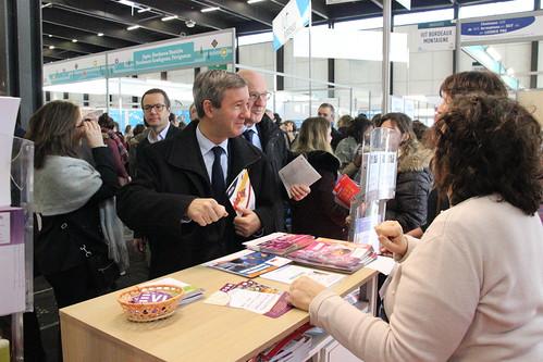 Inauguration du salon du lyc en et de l 39 etudiant 06 01 201 flickr - Salon de l etudiant bordeaux ...